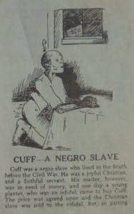 Cuff - A Negro Slave